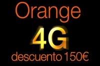 Orange ofrece hoy 150 euros de descuento en factura a clientes 4G