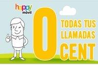 Happy Móvil también presume de tarifas a cero euros
