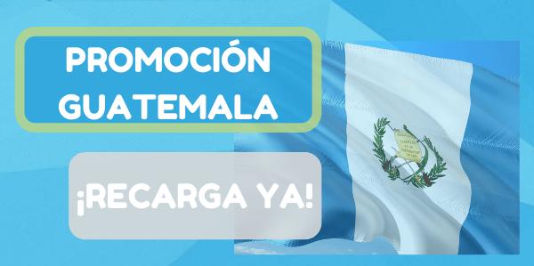 ¡Activamos promos! Envía dinero a Guatemala este fin de semana