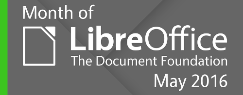 Month of LibreOffice header