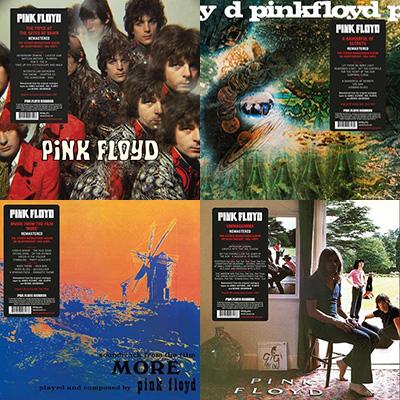 Pink Floyd Vinyl Reissues 2016