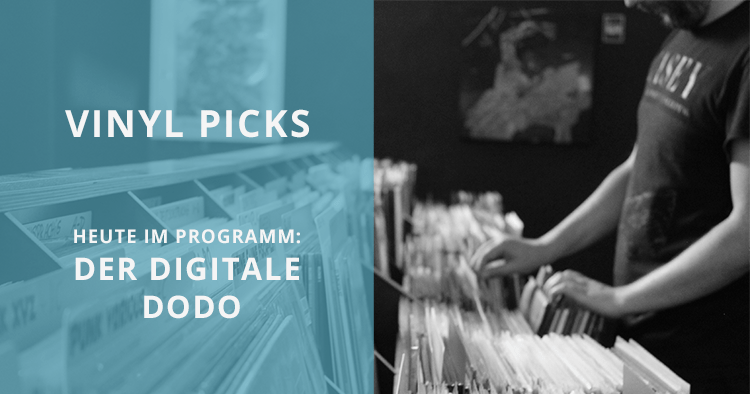 Drei Vinyl Picks vom digitalen Dodo