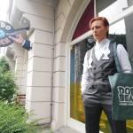 David Bowie zu Besuch in Schöneberg