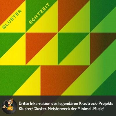 Qluster - Echtzeit Vinyl LP