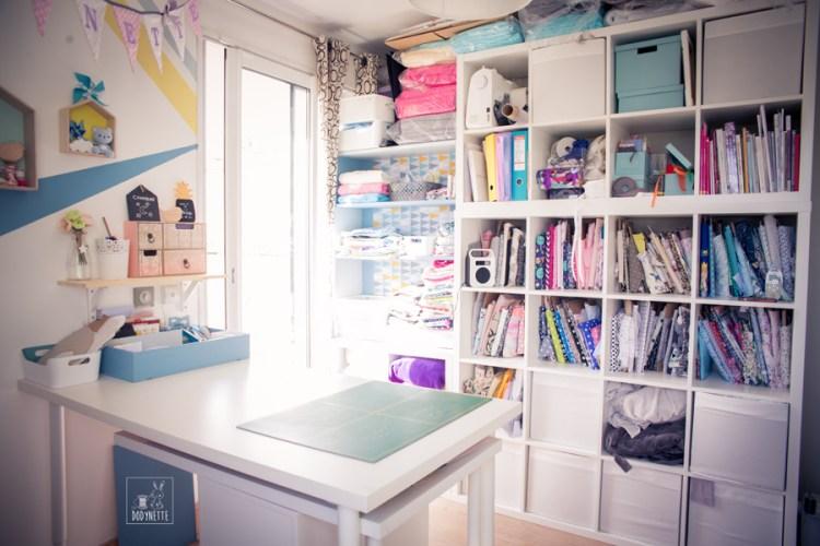 organiser son atelier couture les tutos couture de dodynette. Black Bedroom Furniture Sets. Home Design Ideas