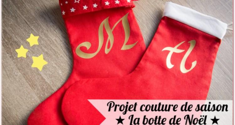 Tuto Couture La Botte De Noël Ultra Facile Les Tutos Couture De
