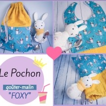 le-pochon-gouter-malin-foxy-dodynette-couture-bebe-repas-bavoir