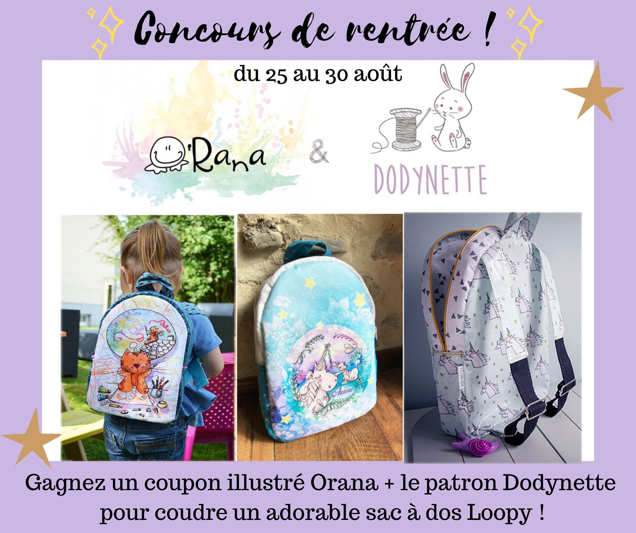 Dodynette Les Des ConcoursTutos De Résultats Couture OkPXn08w