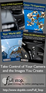 Full Stop dsl camera user guide book Nikon Canon