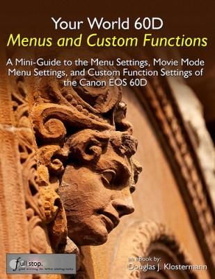 Canon EOS 60D book custom function menu