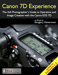 Canon EOS 7d e book guide manual firmware 2 2.0 2.0.3 update instruction