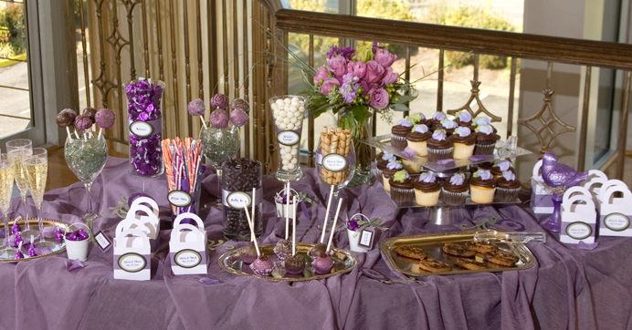 Candy & Dessert Buffet For Your Reception