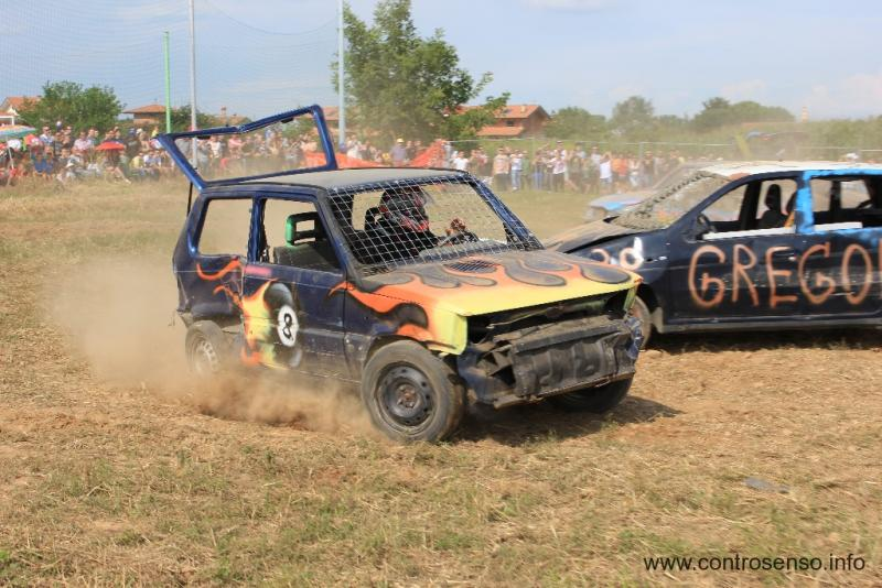 Una Panda Fire ad un Demolition Derby
