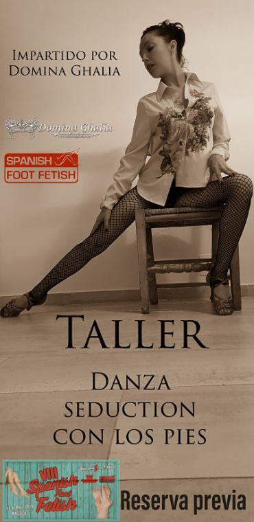 danza seduction taller domina ghalia