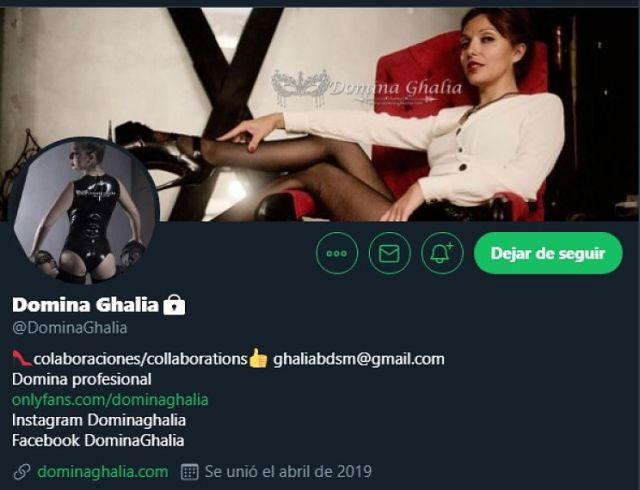 Twitter Domina Ghalia