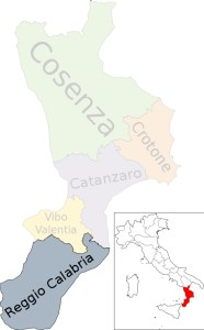 Earl Grey comes from Reggio Calabria, located in the tip of the boot of Italy.