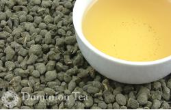 Ginseng Oolong Dry Leaf and Liquor