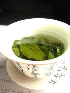 Tea Leaves in Gaiwan