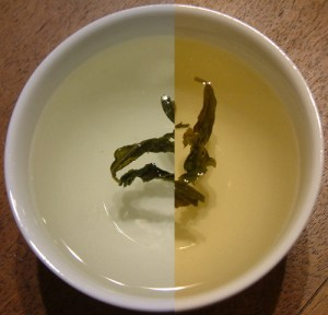 Steeping Tea Leaves Over Time