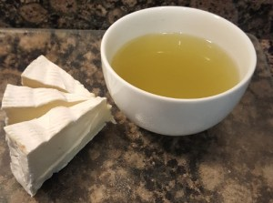 Brie with Matcha Infused Sencha
