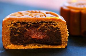 Moon Cake with Filling