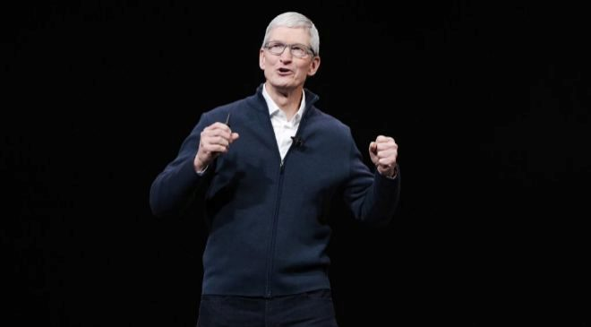 Tim Cook, consejero delegado de Apple. EFE