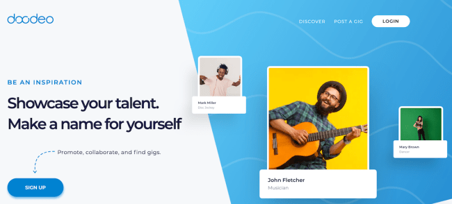 Doodeo - Platform for All Entertainers