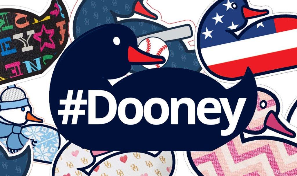 An array of Dooney Duck stickers.