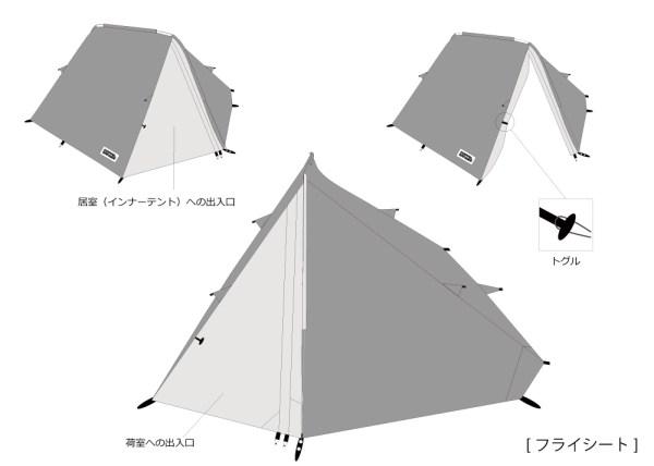 フライシートの構造