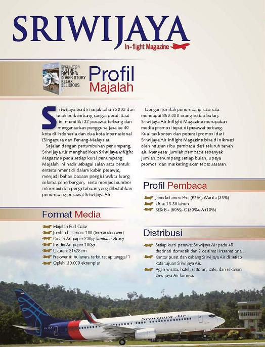 Media Kit Sriwijaya Magazine
