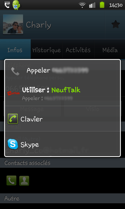 neuftalk android