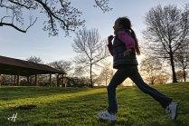 beatrice alergand prin parc