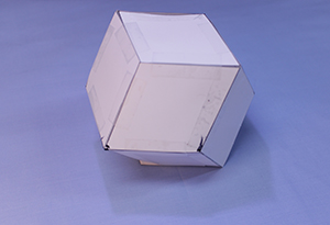 Completed rhombic dodecahedron