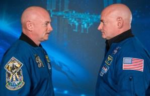 Two astronauts.