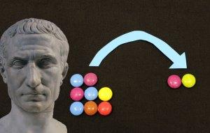 Julius caesar offers you some smarties