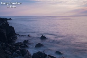 photograph by Doug Couvillion: Kona Coast at sunset (4 of 4)