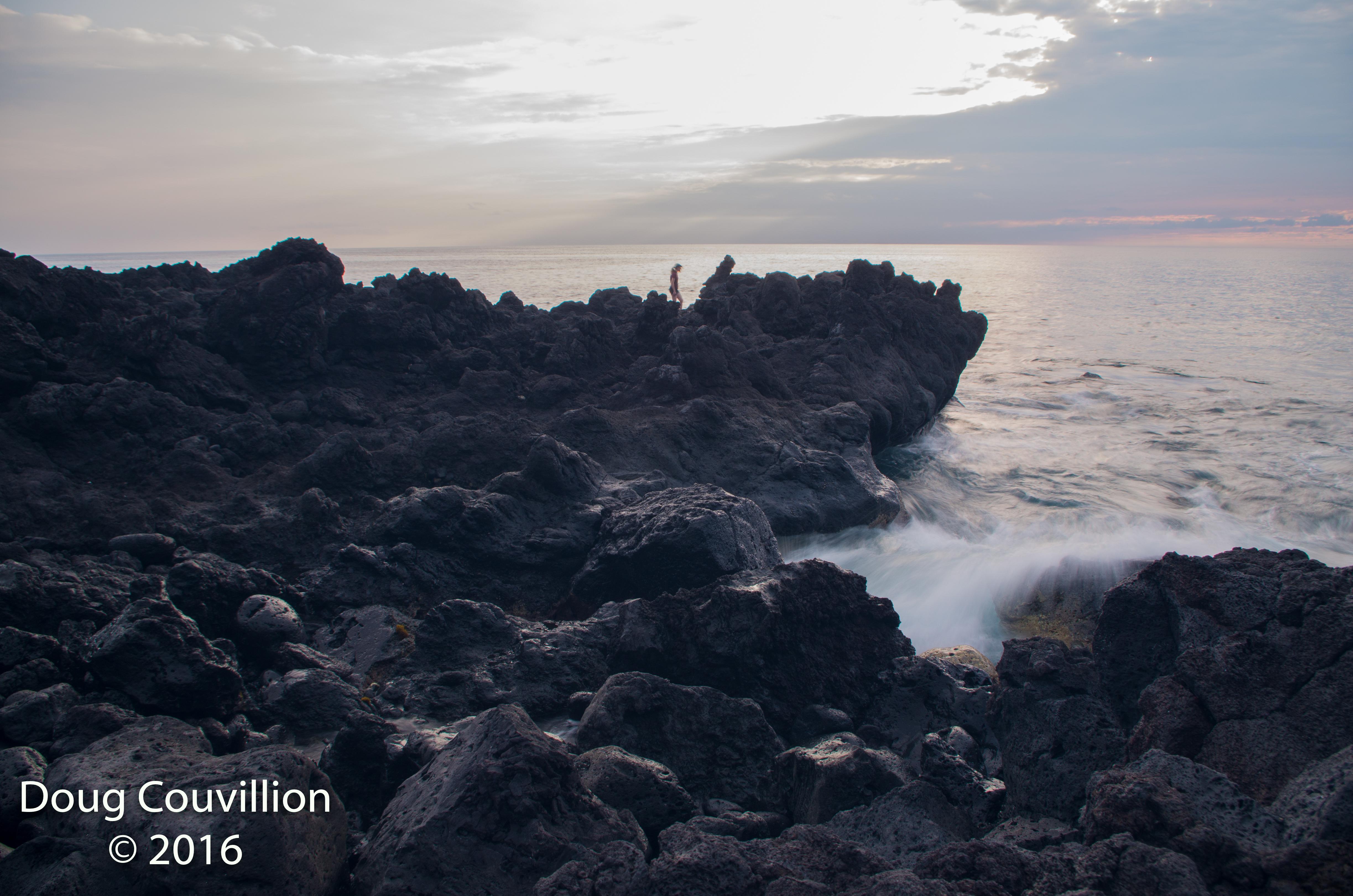 Photography by Doug Couvillion: Kona coast at sunset (1 of 4)