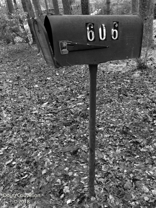 photograph of an old mail box by Doug Couvillion