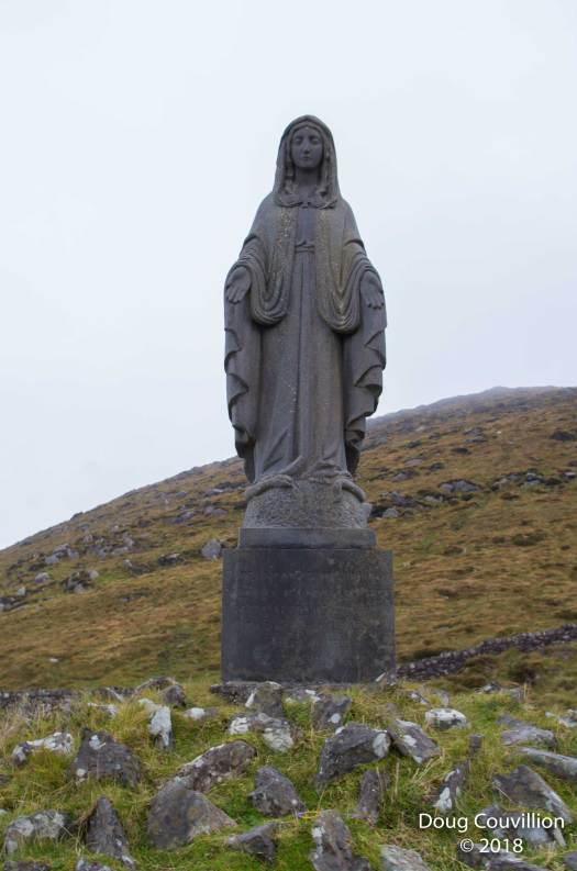 Photograph of a statue on the Ring Of Kerry in Ireland by Doug Couvillion