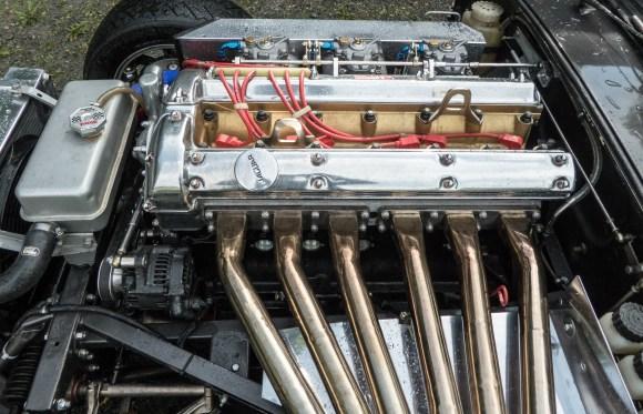 A Jaguar Racing Engine