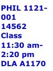 DLA Course Sched Example