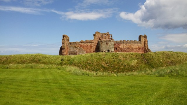 View of Tantallon Castle