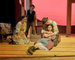 In November, the departments of Theatre and Stagecraft presented the Canadian premiere of Heritage, by Nicola McCartney.