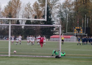 In November, Douglas College hosted the CCAA Women's Soccer Nationals in Coquitlam.