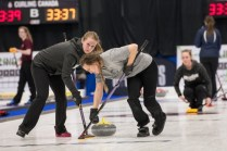The women's curling team brought home gold at the CCAA National Championships on March 19