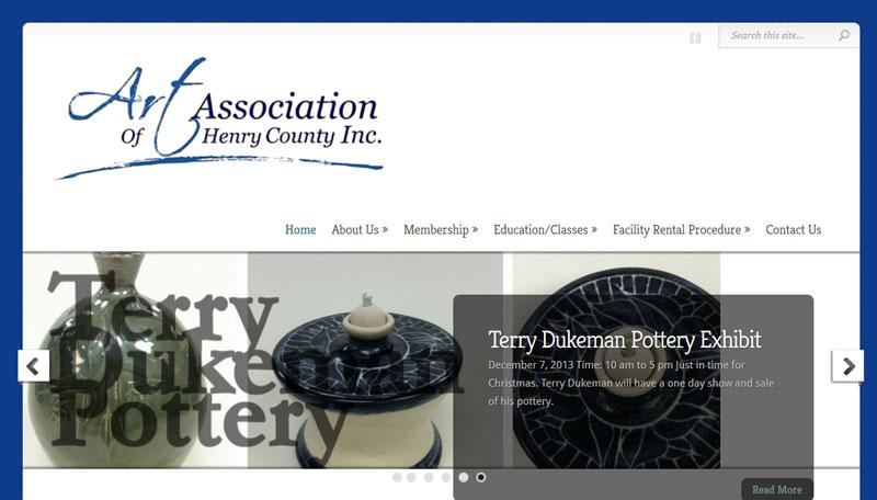 Art Center Gets New Website