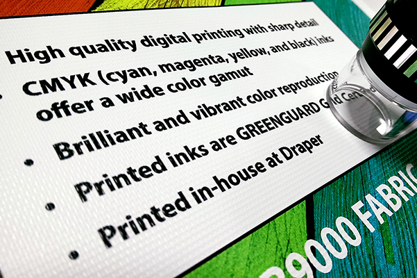 Colorful Custom Solutions with Draper's In-House Printing