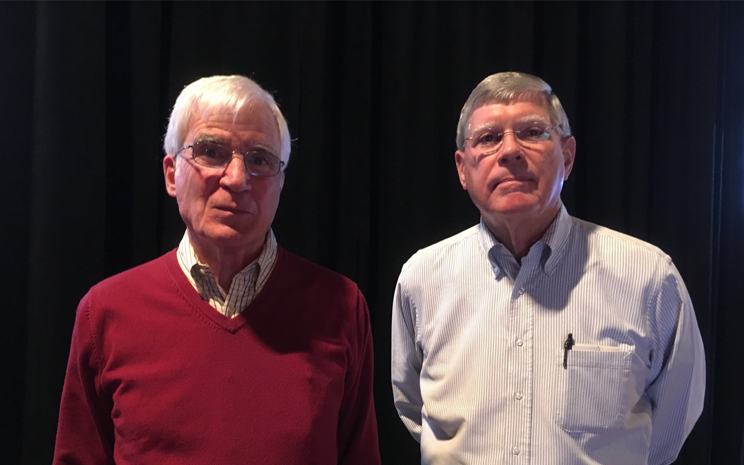 John and Mike Celebrate 50 Years at Draper