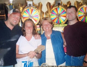 A pre-InfoComm trip to Las Vegas-Amy, Carol Phelps and husbands.