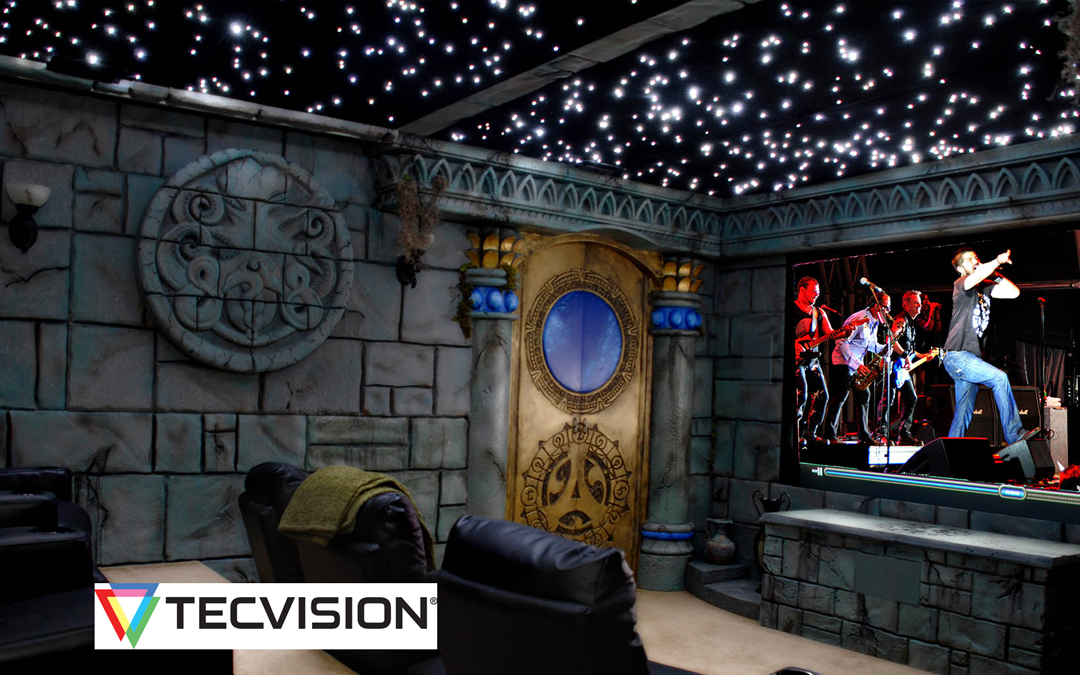 TecVision—Not Your Grandparents' Projection Screen